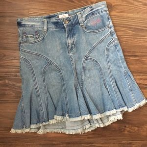 Joie Denim Skirt